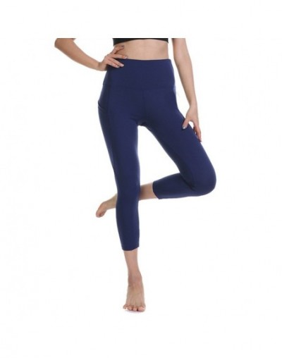 2019 high waist sports legging with pocket for women fashion new female workout stretch pants plus size Elastic fitness legg...