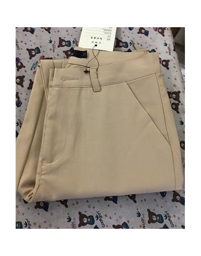 Korean Fashion Trousers Women Spring Cute 20 Candy Colors Pencil Pants Elegant Basic Stretch Big Size Mom Pants Leggings Pan...