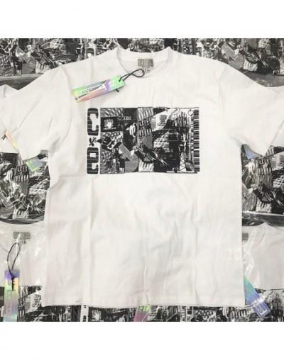 Japan Fashion Mix Style Women Men Printed T shirts tees Hiphop Streetwear Men C.E T Shirt Summer Style - Army Green - 5G1111...