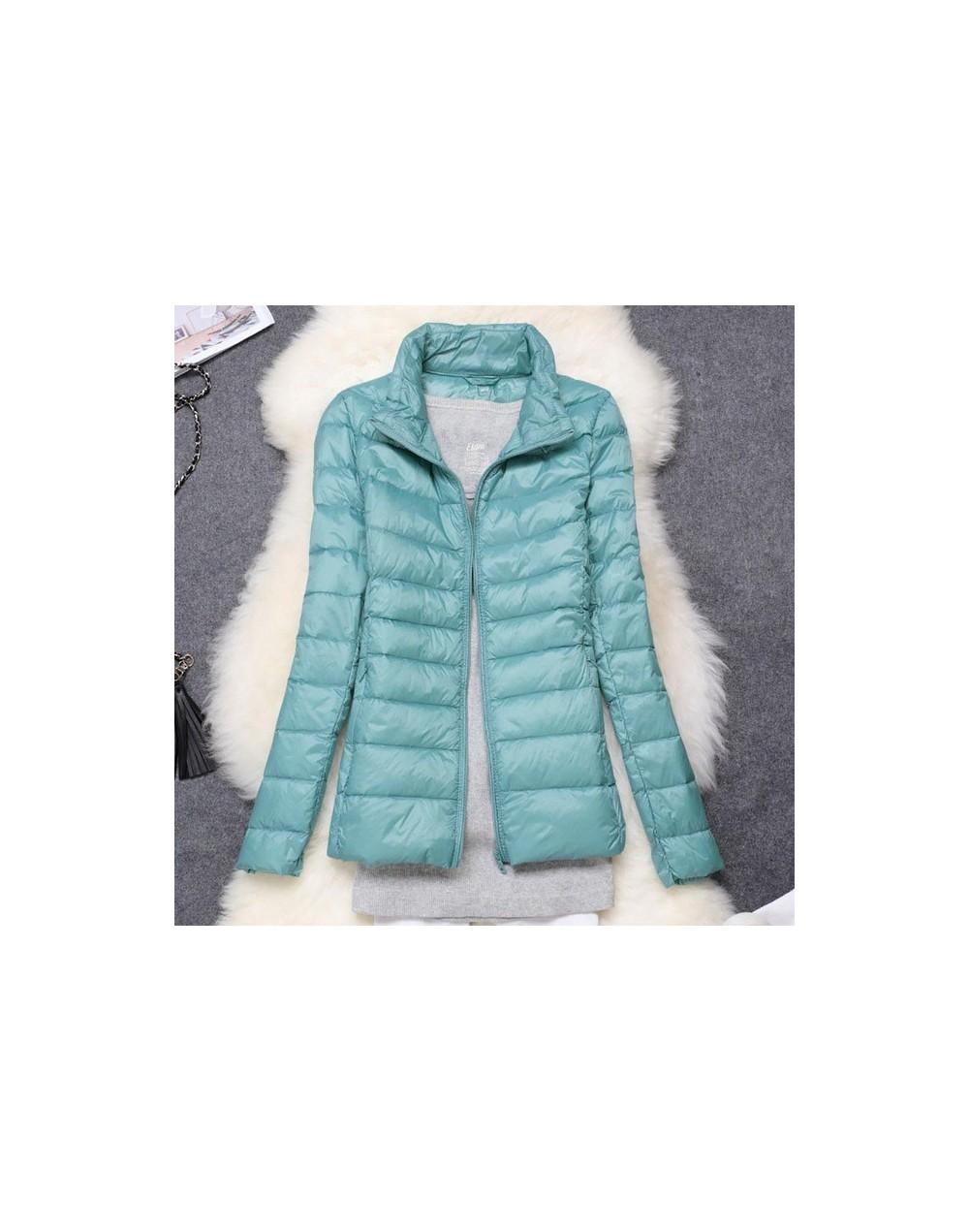 Plus Size 5XL 6XL 7XL Women Winter Coat Ultra Light White Duck Down Jacket Slim Spring Women Warm Jacket Windproof Down Coat...