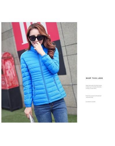 Autumn ladies cotton jacket 2018 New winter Parkas Women Slim zipper Short Fashion Jacket New Arrival Female Coat LF893 - Bl...