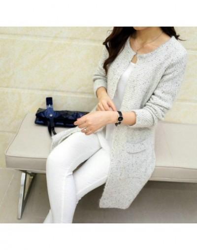 2019 Autumn Winter Fashion Women Long Sleeve loose knitting cardigan sweater Womens Knitted Female Cardigan pull femme - Bei...