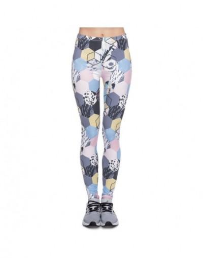 New Design leggins mujer With Multicolor Pattern 3D Printing legging fitness feminina leggins Woman Pants workout leggings -...