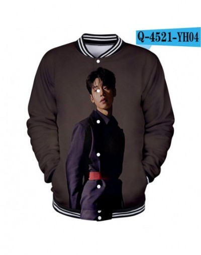 Newest Kpop AB6IX 3D Suit Design V-Neck Hoodies Men Women Unisex Sweatshirts Tracksuits Cool Baseball Clothing Fleece Street...