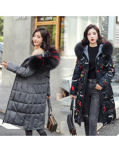 Both Two Sides Wear Big Fur Hooded Down Parkas Women 2019 New Autumn Winter Coat Jackets For Women Two Sides Female Jackets ...