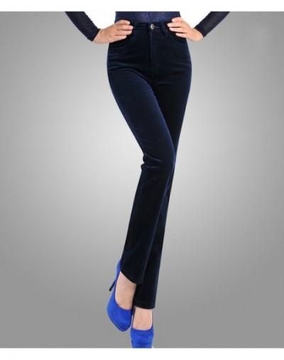 2019 Spring Corduroy Pants Women Stretch Women Loose High Waist Pants Corduroy Trousers Womens Cotton Women's Pants Plus Siz...