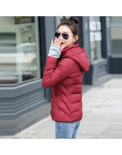 2019 New Short Winter Jacket Women Thickening Warm Outerwear Parkas Female Big Size S-5XL Loose Coat Winter Women Cotton Pad...