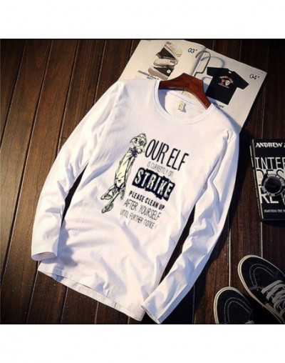 2018 Pure Cotton T-Shirt Harry Dobby Movie Potter Figure Printed Long Sleeve Fashion Casual Tops & Tees Brand Unisex Clothin...
