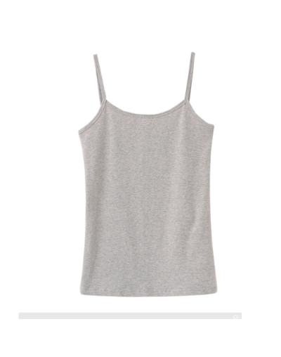 Sexy Top Women Sleeveless Spaghetti Strap Casual Vest Summer Elastic Slim Camis Candy Color Tank Tops Roupas Femininas - 3 -...