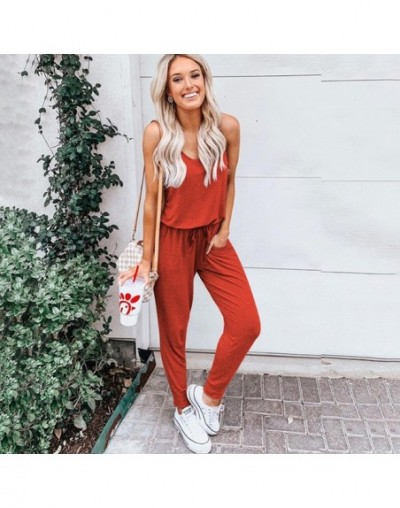 2019 rompers womens jumpsuit summer Europe new five-color short-sleeved bind jumpsuits hot style spot vestidos SJ5198 - Oran...