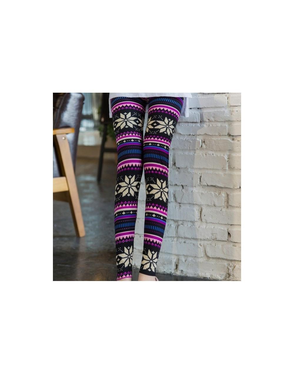 New 2019 Starry sky Flower Printed Legging Fashion Slim Women leggings Thin High Elastic Cotton Causal Fitness Pants - 7 - 4...