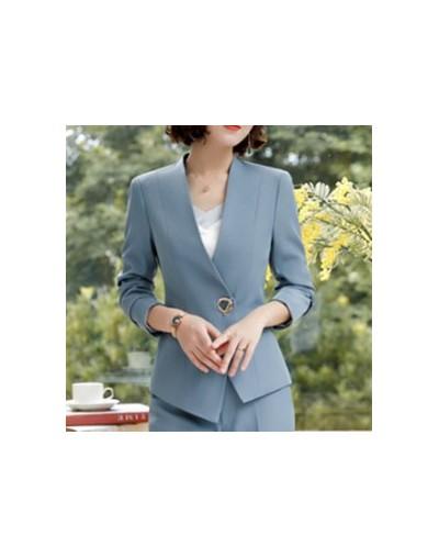 2 Piece Pant Suits Women Office Lady Outfits Business Work Formal Pants Blazer Set Fashion Trousers Jacket Female Coat Cloth...