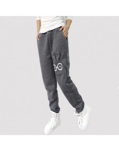 Women Joggers Autumn Capris 2019 Harem Pants Women Pants Casual Sweatpants Loose Pant Cartoon Rabbit Trousers Ladies Pants -...