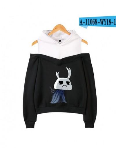 Hollow Knight Off Shoulder Hoodies Women Fashion Long Sleeve Hooded Sweatshirts 2019 Hot Sleeve Casual Streetwear Clothes - ...