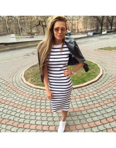 2018 Summer Fashion Dress Summer Women Maxi Long Slim Dresses Casual Loose Cotton Sundress for Female - White - 4K3050279165-2