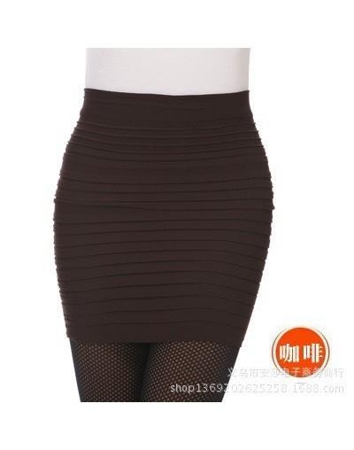 Spring Autumn Winter Women's OL Mini Shorts skirts high waist flared pleated dressing female ball grown underskirt 1pcs/lot ...