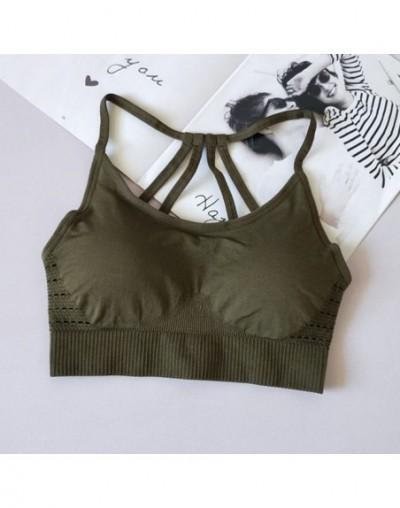 Women Seamless Bras For Women Workout Sexy Push Up Seamless Sporting Crop Top Women Sportswear Fitness Shirt Vest 5 - Green ...