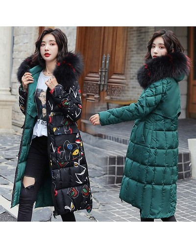 Both Two Sides Can Be Wore 2019 Women Winter Jacket New Arrival With Fur Hooded Long Coat Cotton Padded Warm Parka Womens Pa...