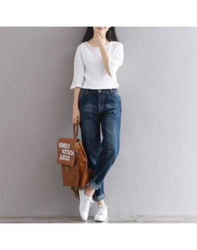 2019 Boyfriend Jeans Harem Pants Women Trousers Casual Plus Size Loose Fit Vintage Denim Pants High Waist Jeans Women Vaquer...