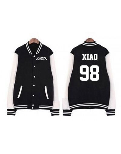 Fashion preppy style kpop single breasted baseball jacket new idol group up10tion member name printing hoodie jacket - 7 - 4...