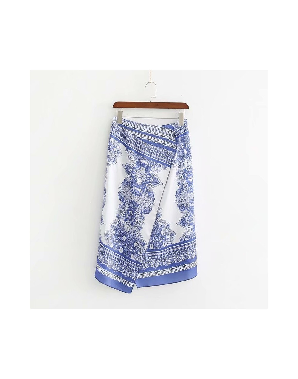 New arrival The European and American fashion printing skirt XD45-2280 - see chart - 424167744043