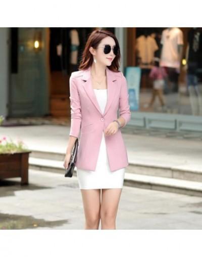 Plus Size 3XL Blazer Feminino Women Basic Coats Long Sleeve Small Suit Jacket Female Blaser Feminino England Blazer Women C4...
