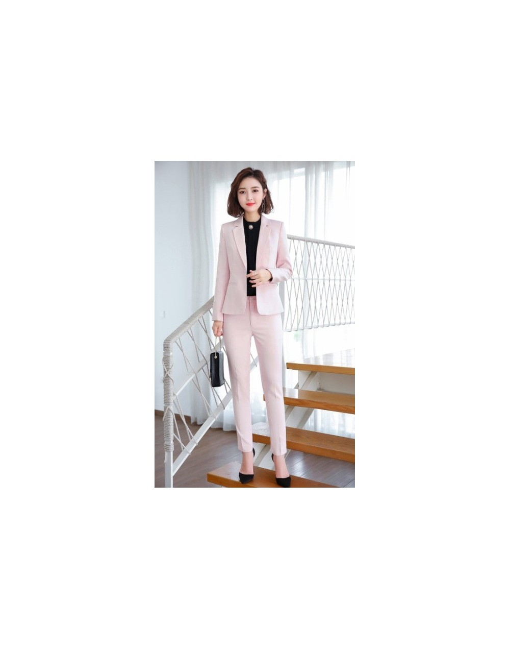 Fashion women pants suits 2019 Autumn new fashion temperament slim long sleeve blazer and pants office ladies foraml work we...
