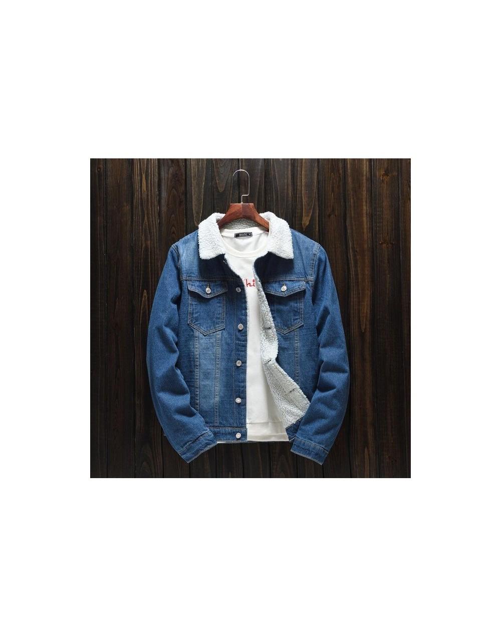 Autumn Winter Fur Denim Jacket Women Bomber Jacket Female Jeans Jacket Coat with Full Warm Lining & Front Button Flap Pocket...