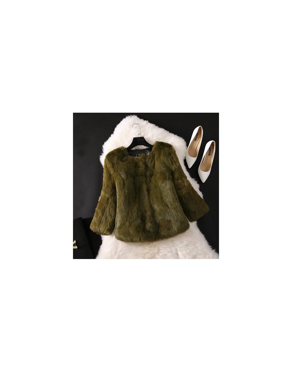 2018 New Hot Sale Lady Real Rabbit Fur Coat Genuine Real Rabbit Fur Jacket Casual Full Pelt 100% Natural Rabbit Fur Waistcoa...