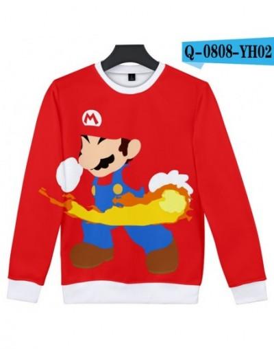 Fashion Mario Game 3D Sweatshirt Capless Cool Pokemon Print Women/Men Funny Sweatshirt Hoodies Fashion Closthes 4XL - Beige ...