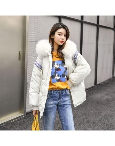 Autumn Zipper Ribbons Parkas Women Coats 2019 Female Winter Jacket Women Parkas Warm Casual Plus Size Thick Loose Overcoat 8...