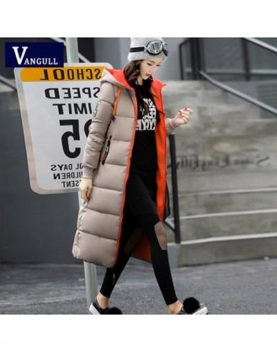 Winter Jackets Women Warm Long Coats 2018 New Fashion Streetwear Thick Parka Contrast Color Block Jacket Female Outwear Coat...