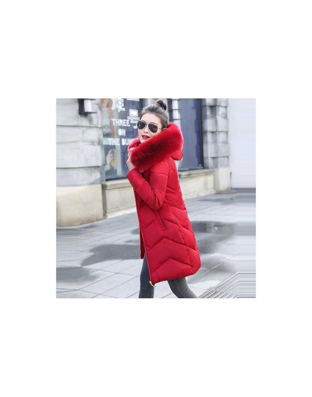 winter jacket women 2019 Winter Female Long Jacket Winter Coat Women Fake Fur Collar Warm Woman Parka Outerwear Down Jacket ...