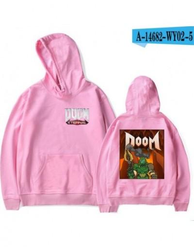 Doom Eternal print Hipster Casual Basic hip hop Popular Hoodies Sweatshirt fashion kpop cool Pullovers Hoodies Sweatshirt - ...