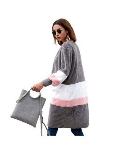 New Casual O-Neck Fashion Zip-up Sweatshirt Streetwear Hoodies Women Striped Moletom Feminino Harajuku Striped Sudadera Muje...