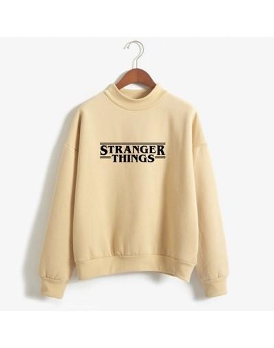 Stranger Things Sweatshirt Women Brand Fashion Casual Autumn Winter Hoodies Fleece Long Tracksuit Loose Hoodie Sweatshirt - ...
